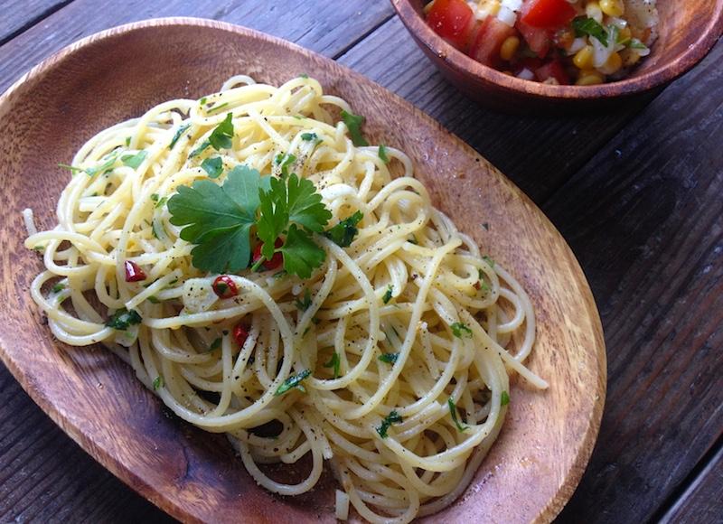 イタリアンパセリのパスタレシピ