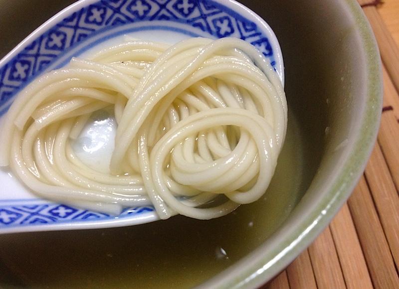 福島ラーメンの麺