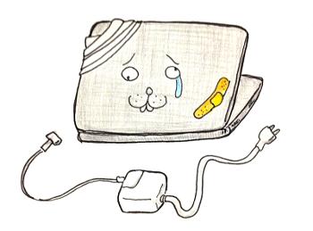 バッテリーは充電できません?MacBookAirの充電ができないので修理してきた