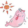 【つけ過ぎると痛い】タイ製の涼しいボディパウダーで暑い夏を乗り切る