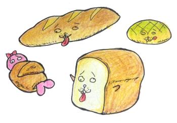 トドとパン