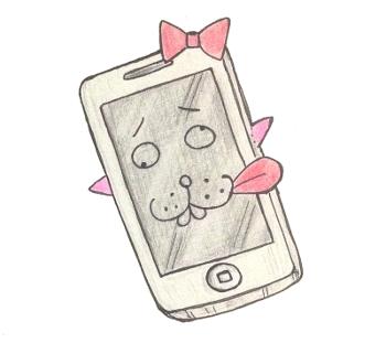 auのプリペイド携帯で、いまだにiPhone4S使ってます