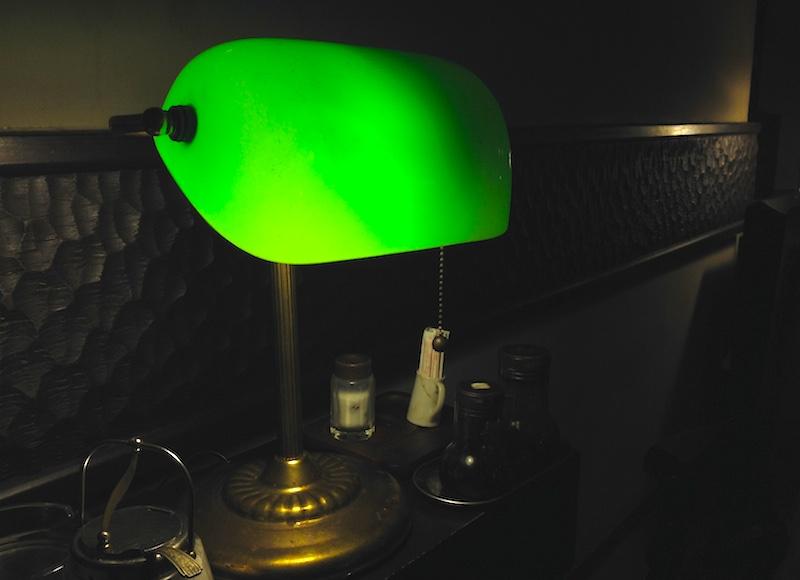 中村屋の照明