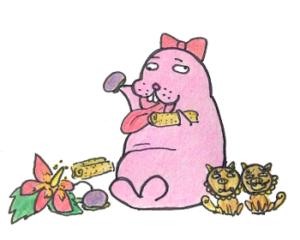 【沖縄伝統のお菓子】ちんびん&うむがむっち食べてみました