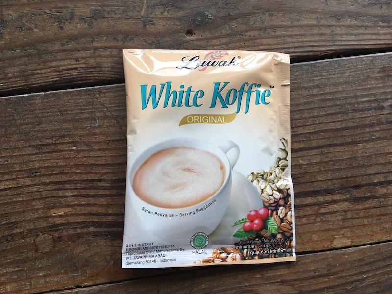インドネシアのホワイコトーヒー
