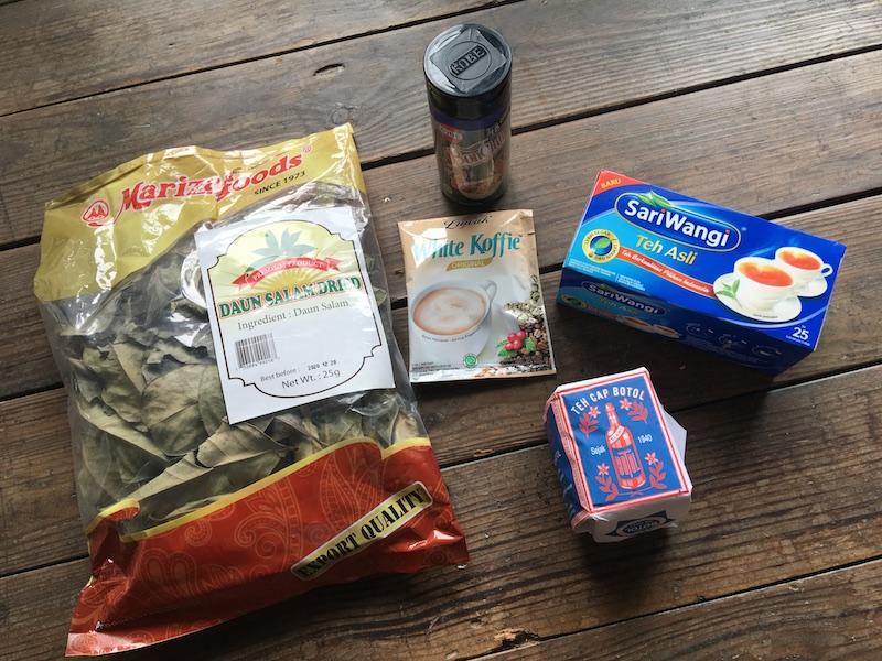 広島ハラルフードで買ったインドネシア食品