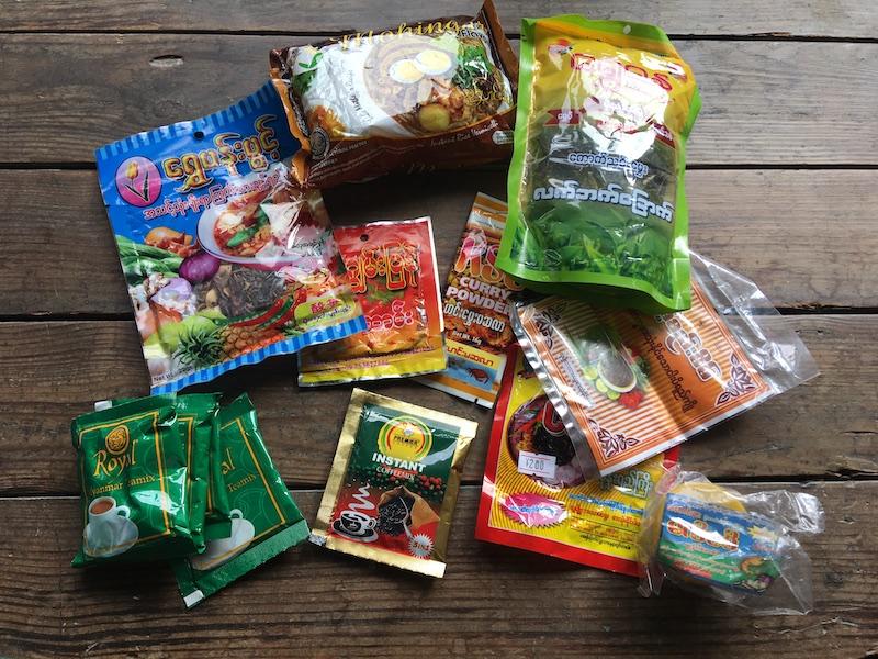 ミャンマーの食品