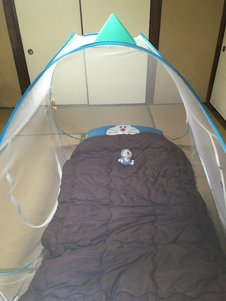 中国製の蚊帳